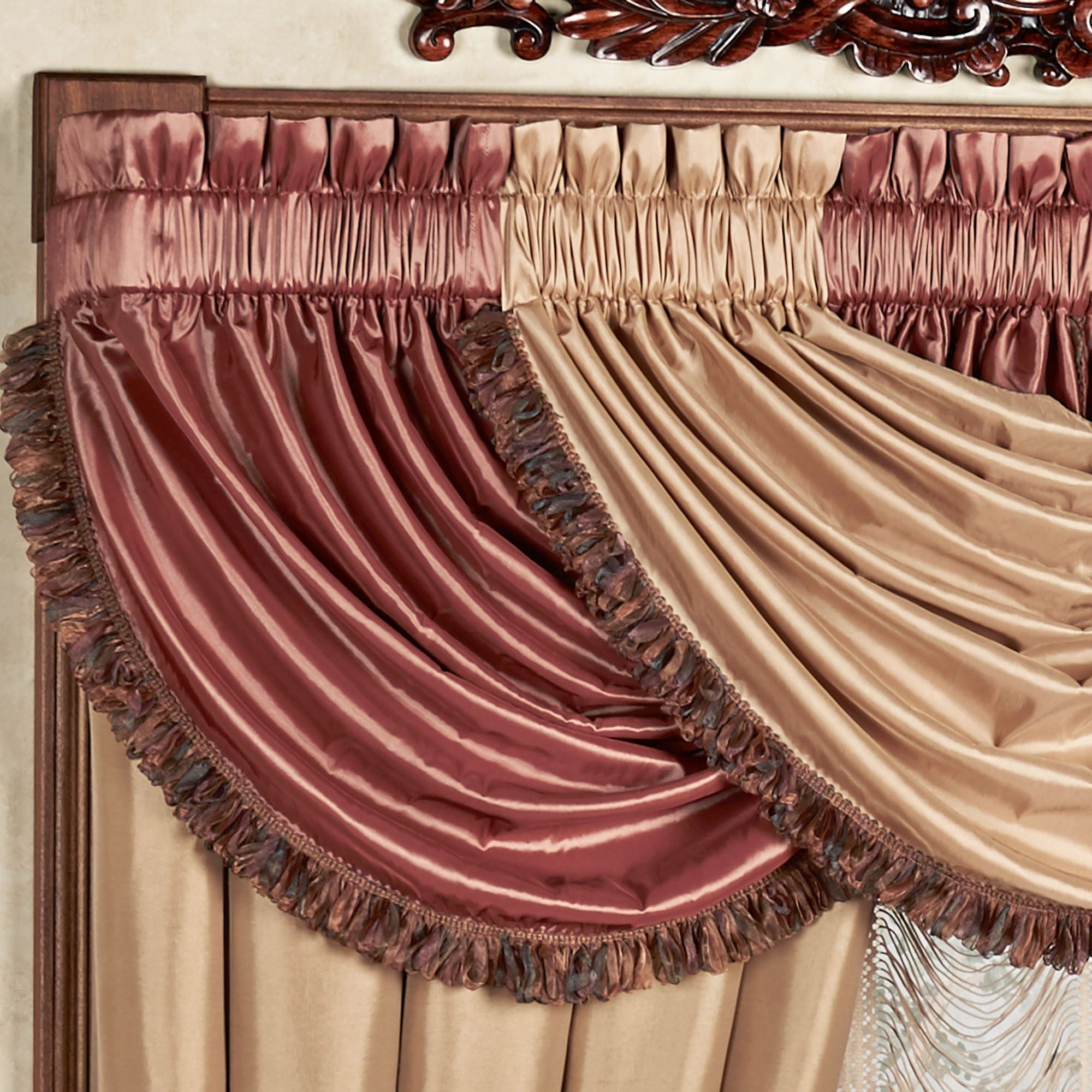 valances valance to with step pictures waterfall how hang wikihow a