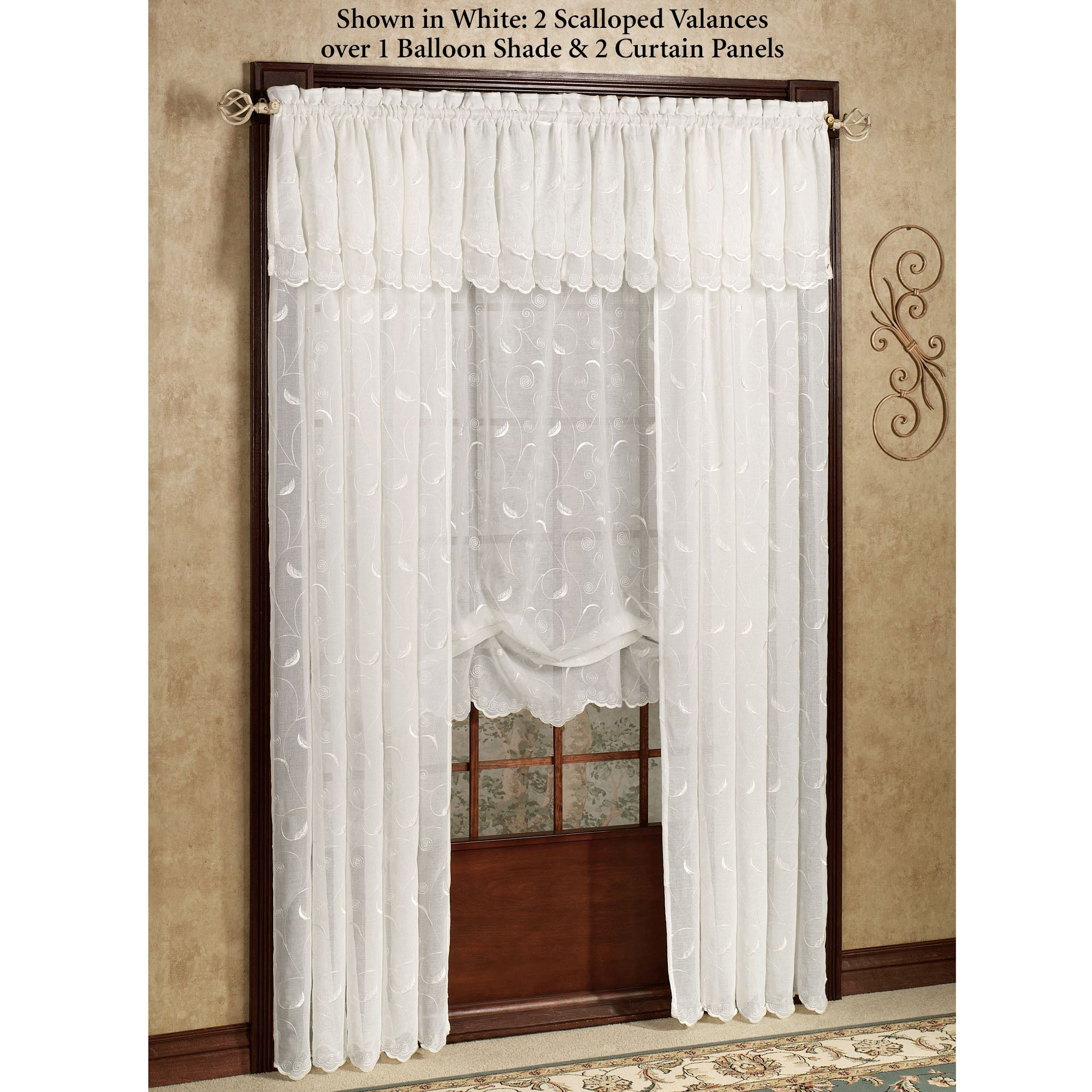 Hathaway Semi Sheer Window Treatment