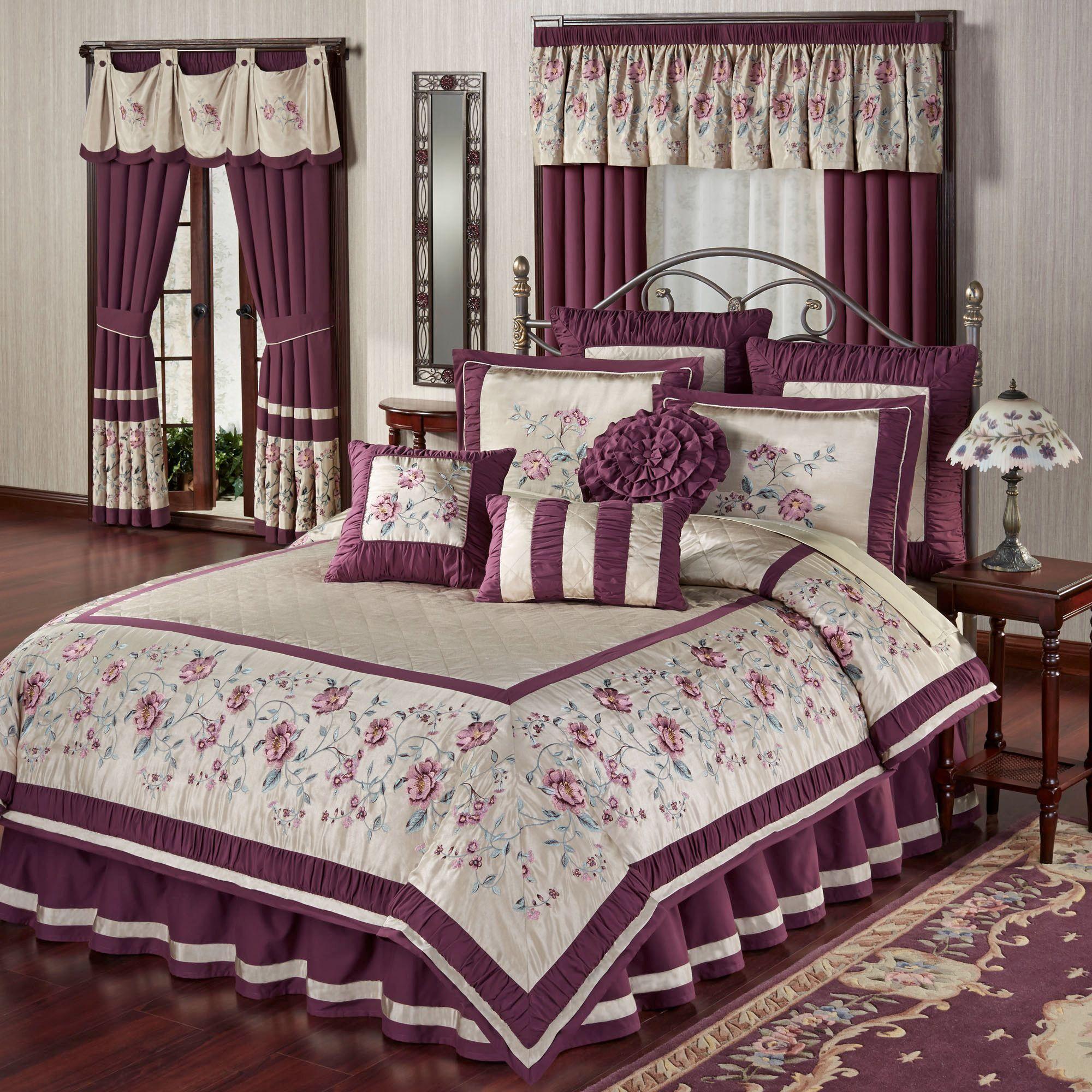 Mystic Garden Floral Comforter Bedding