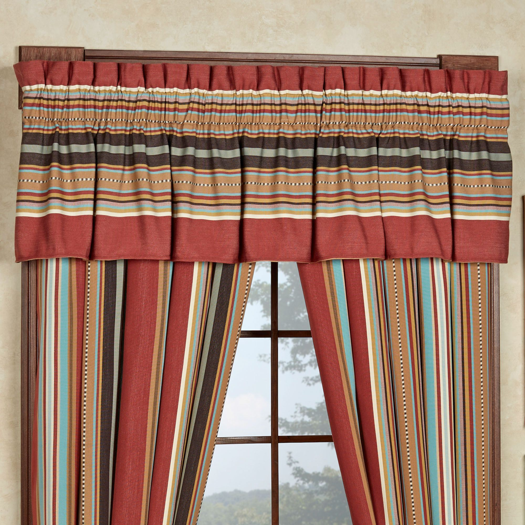 curtains brown southwestern yours pair leather com faux with tiebacks of drapes delectably a