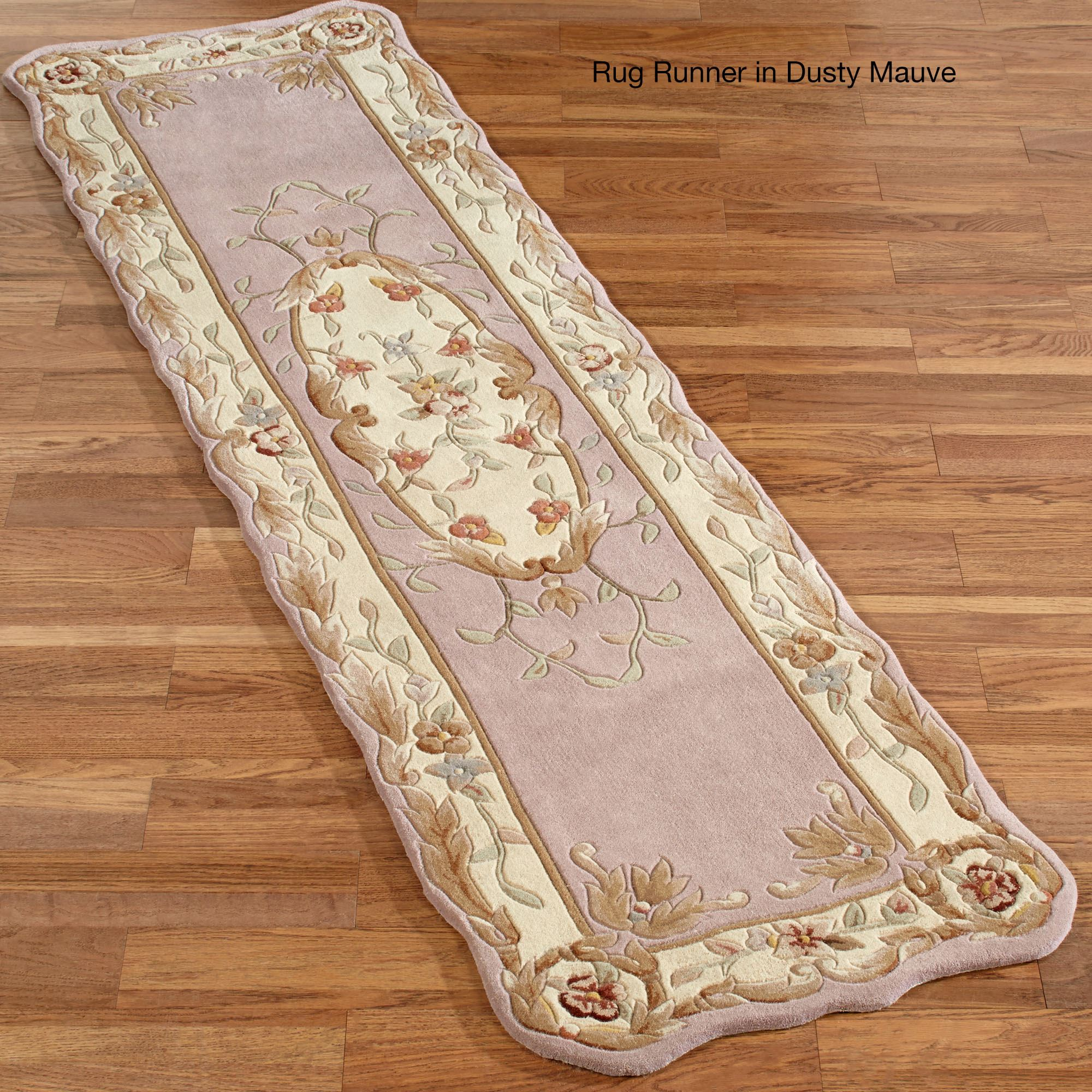 Rose Aubusson Area Rugs
