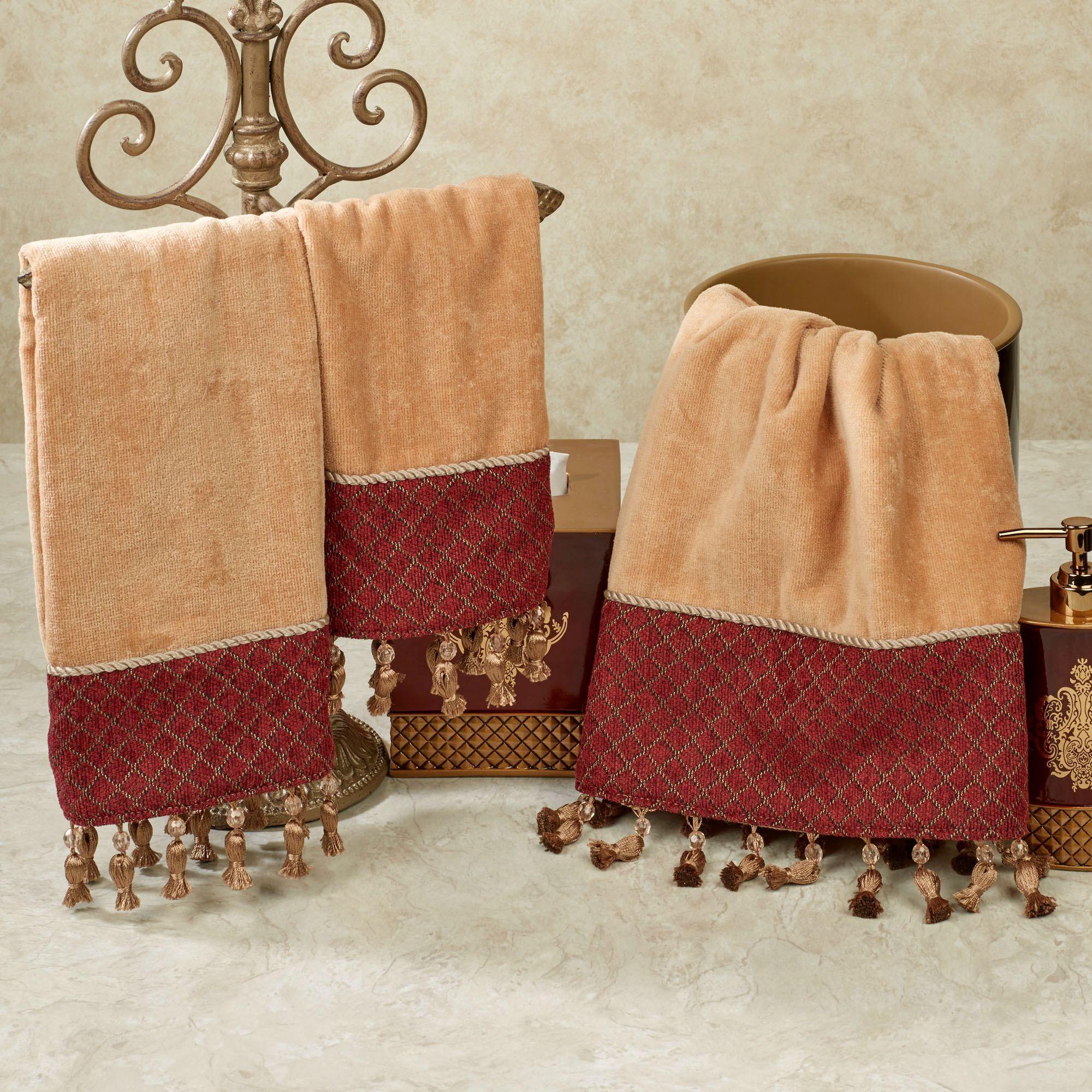 Montecito Beaded Tasseled Bath Towel Set