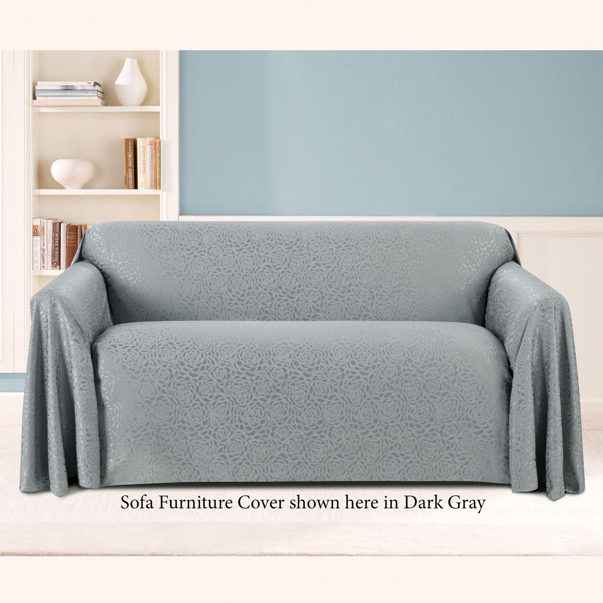 Rosanna Jacquard Rose Drapable Furniture Covers