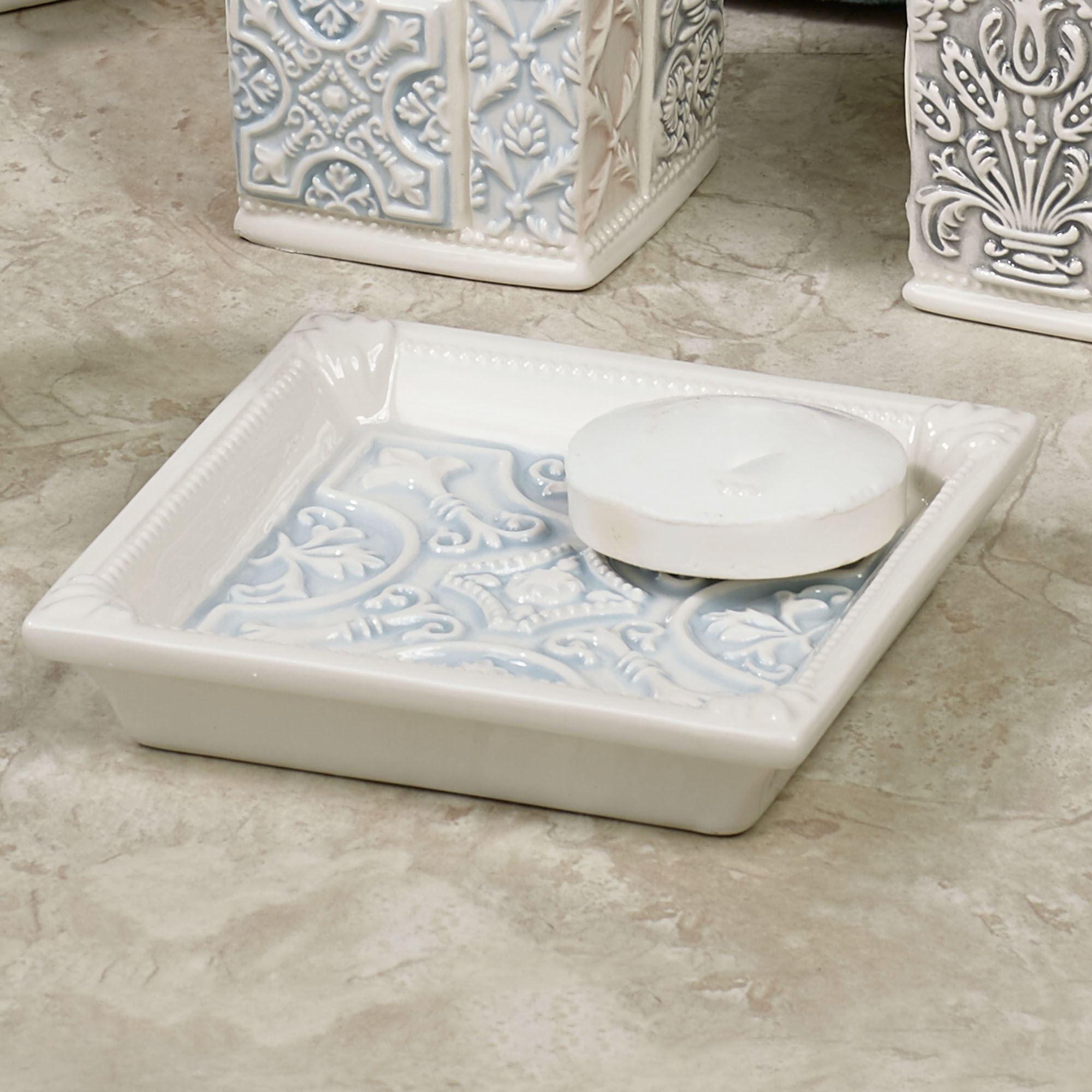 Veneto Medallion Ceramic Bath Accessories