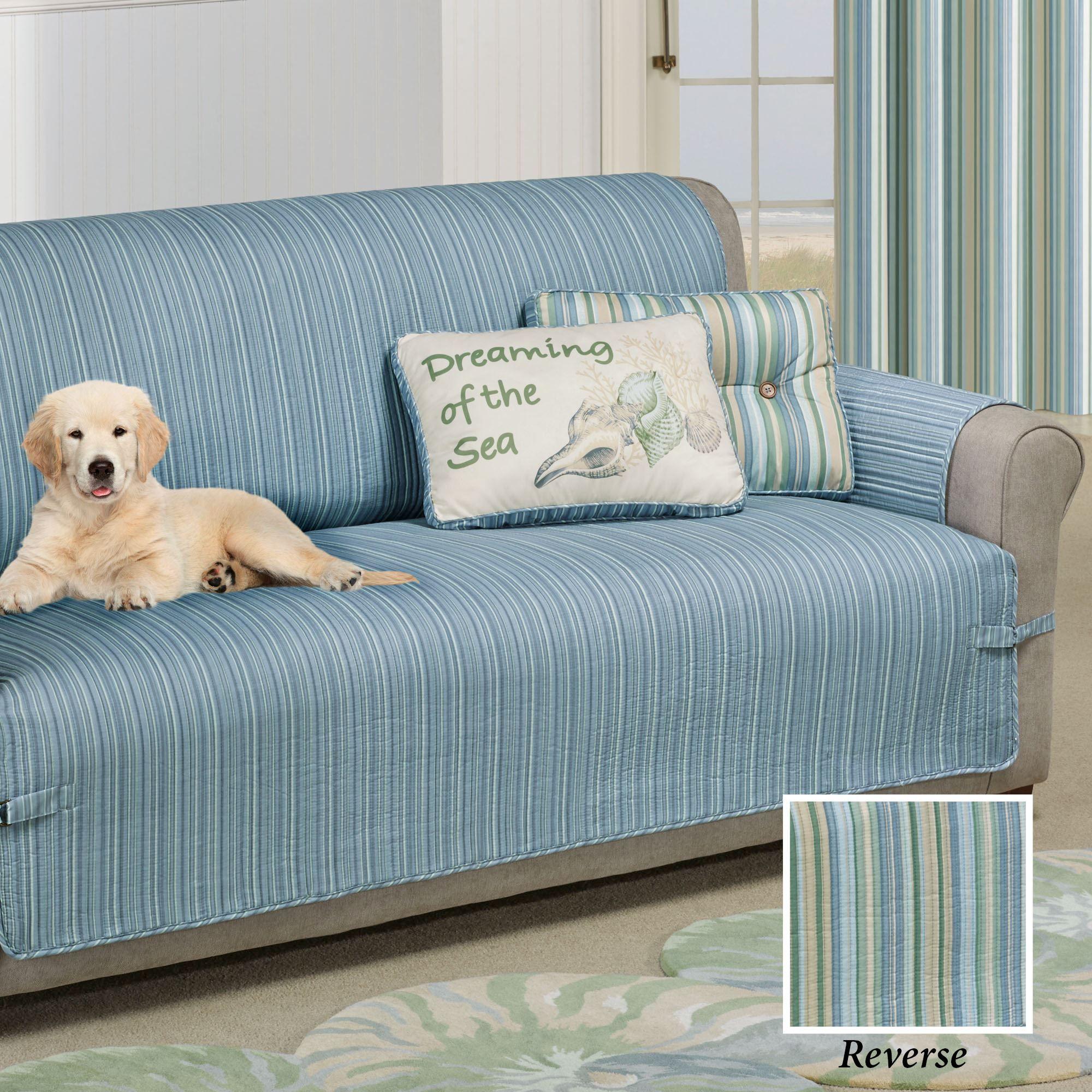 Clearwater Furniture Cover Multi Cool Grande Sofa
