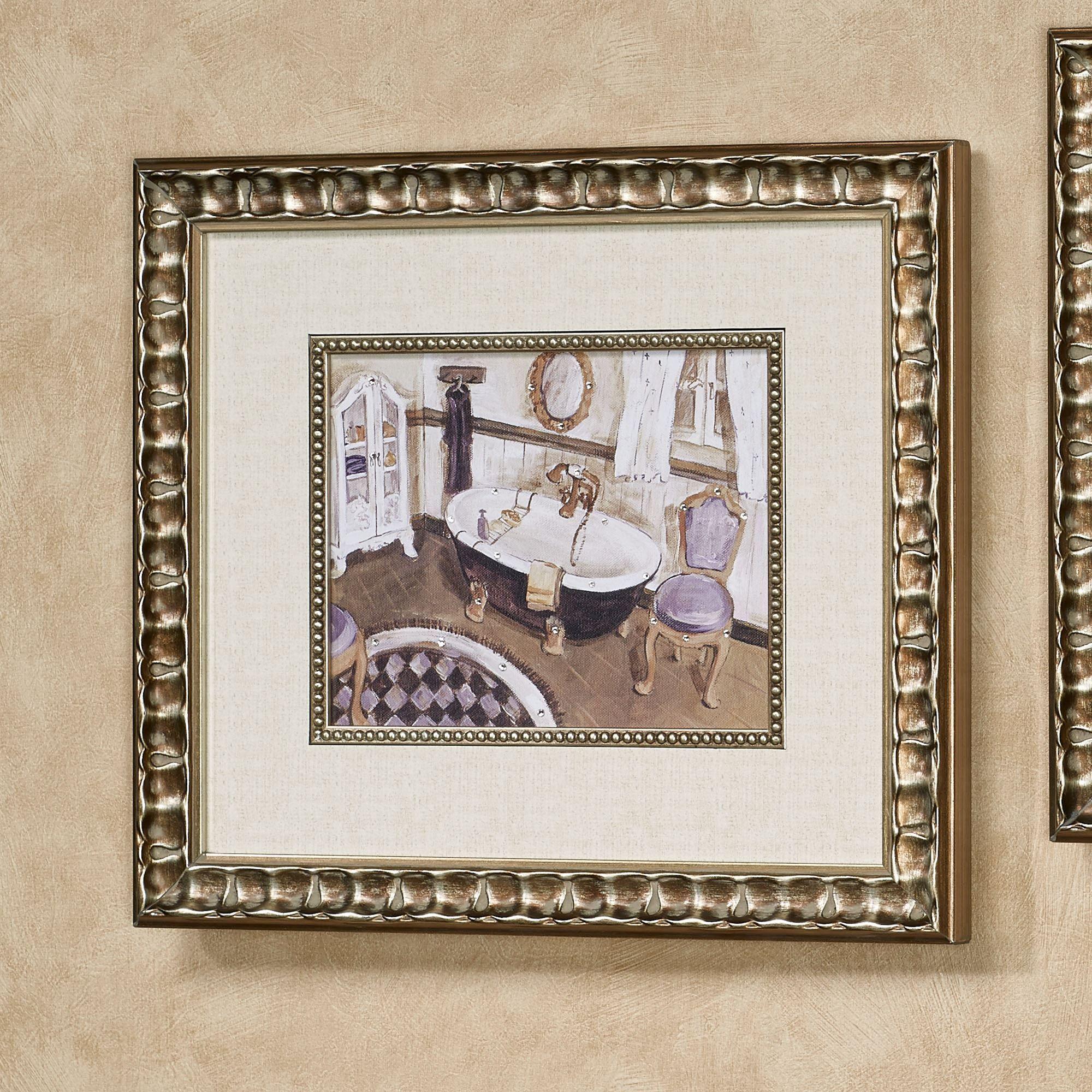 Lavender Retreat I Framed Wall Art Multi Cool