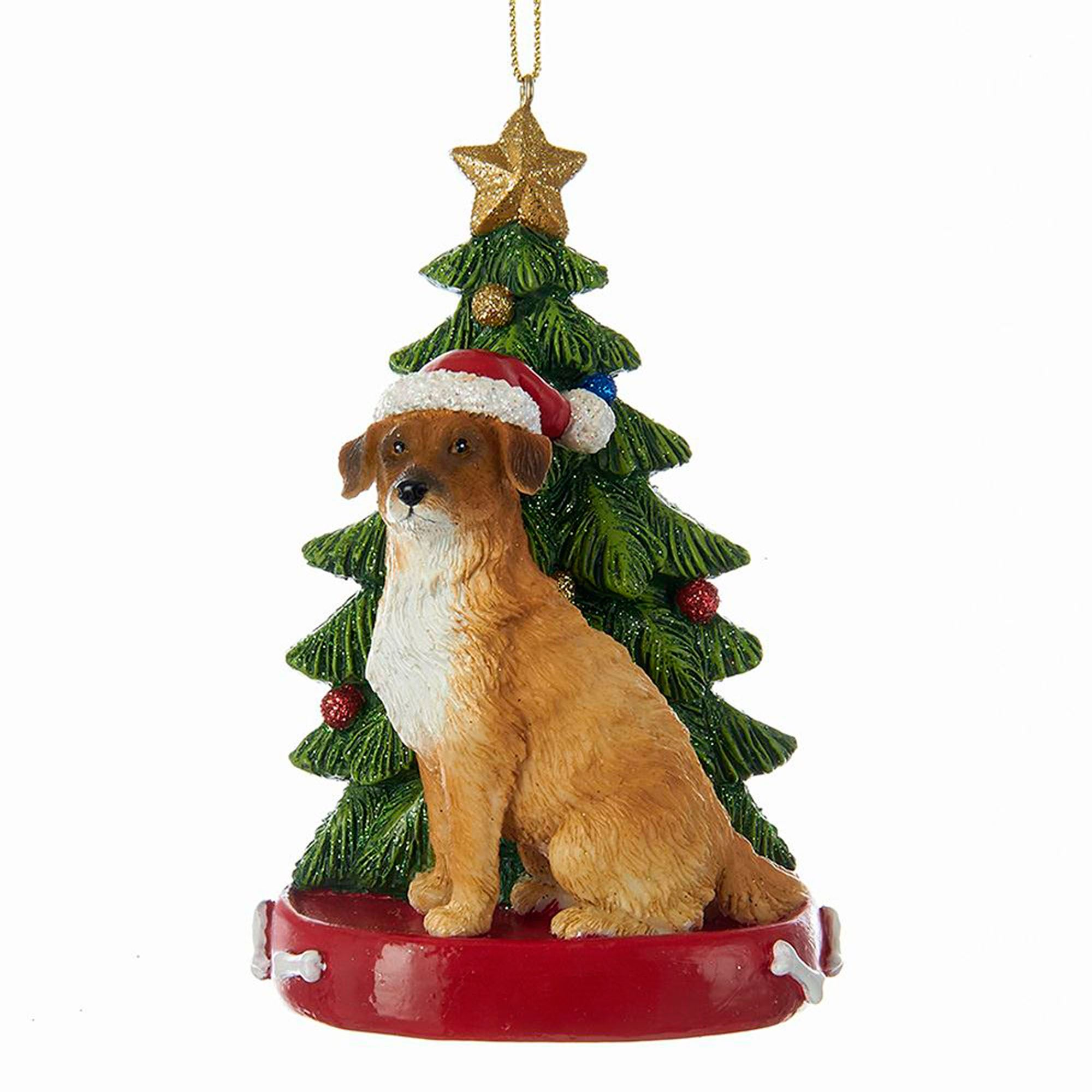 beagle christmas ornament multi warm