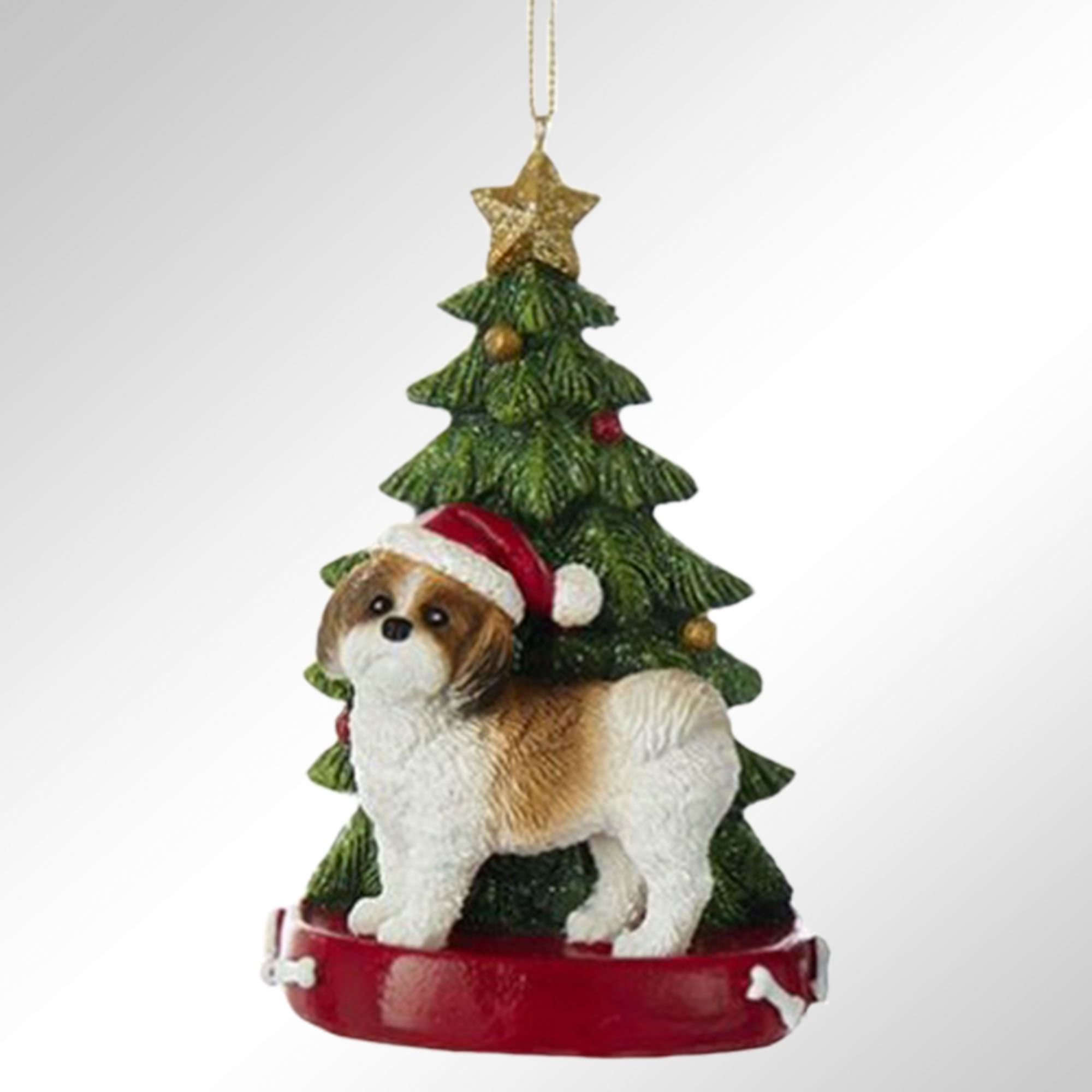 Kurt Adler Christmas Dog Breed Personalized Tree Ornament