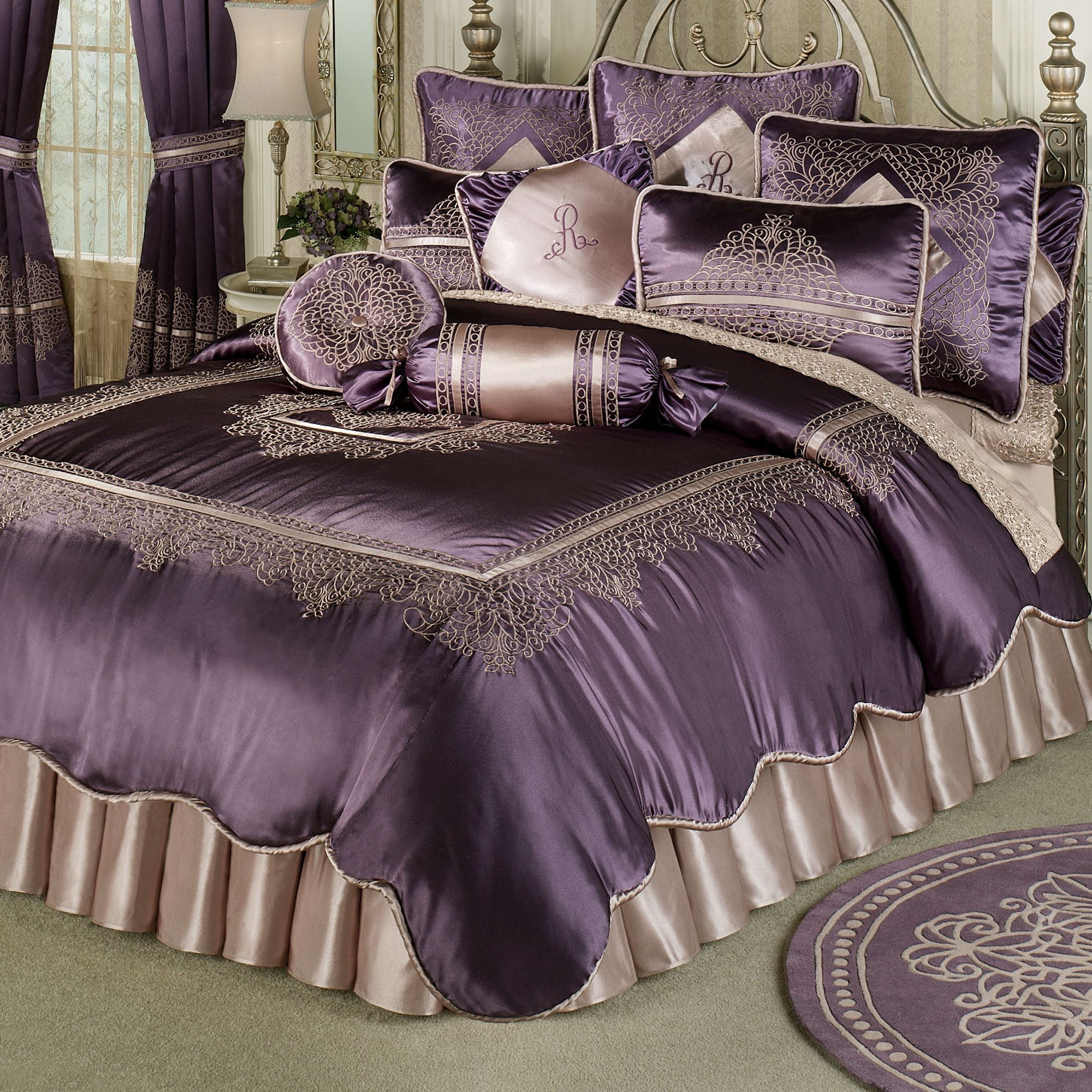 bedding kylie petra ks ponden home nude satin collection minogue qc comforter final nu