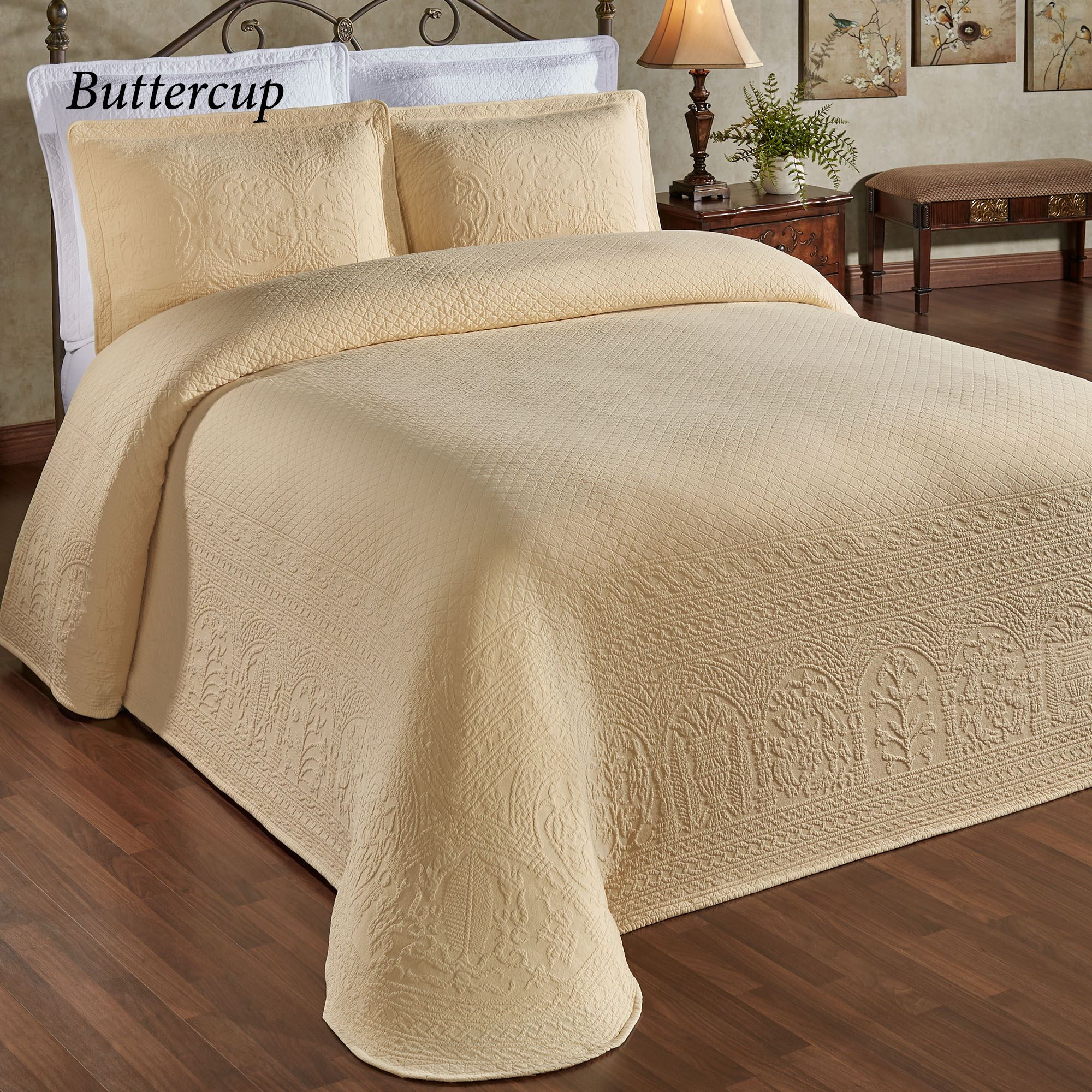 william and mary ii lightweight woven matelasse bedspreads. Black Bedroom Furniture Sets. Home Design Ideas