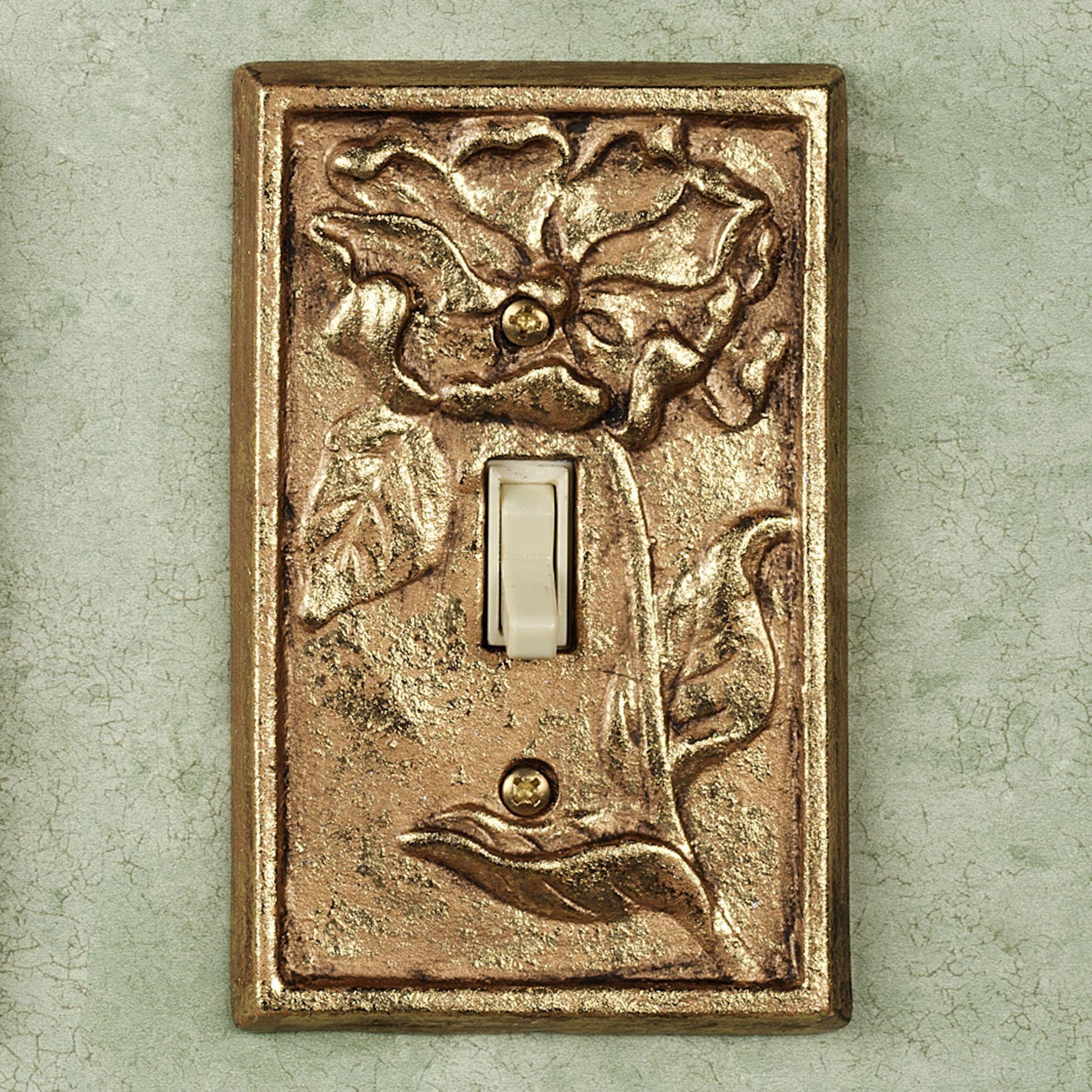 Gold Light Switch Plates Michelia Brass Switchplates