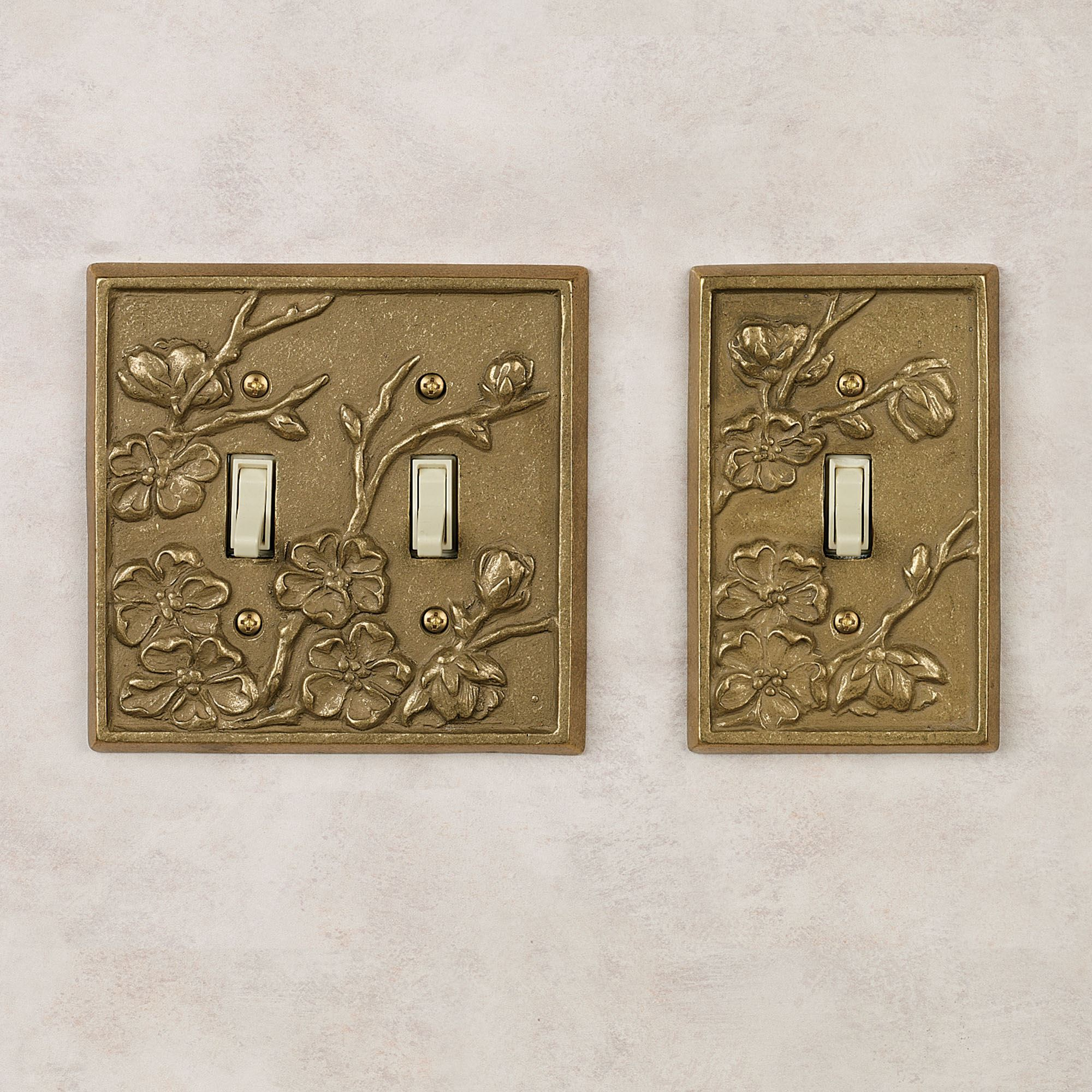 Gold Outlet Covers Switchplates  Touch Of Class