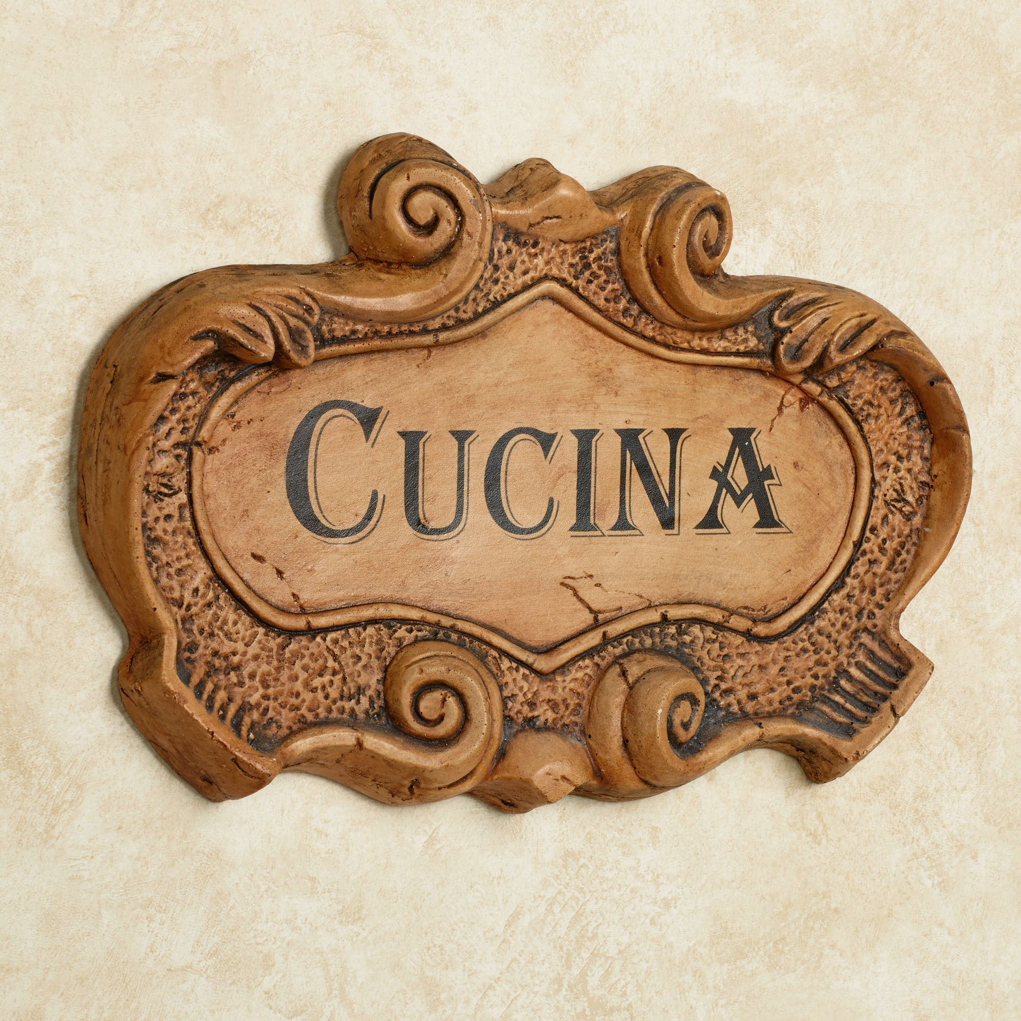 Wall Plaques Custom Cucina Italian Kitchen Wall Plaque Inspiration