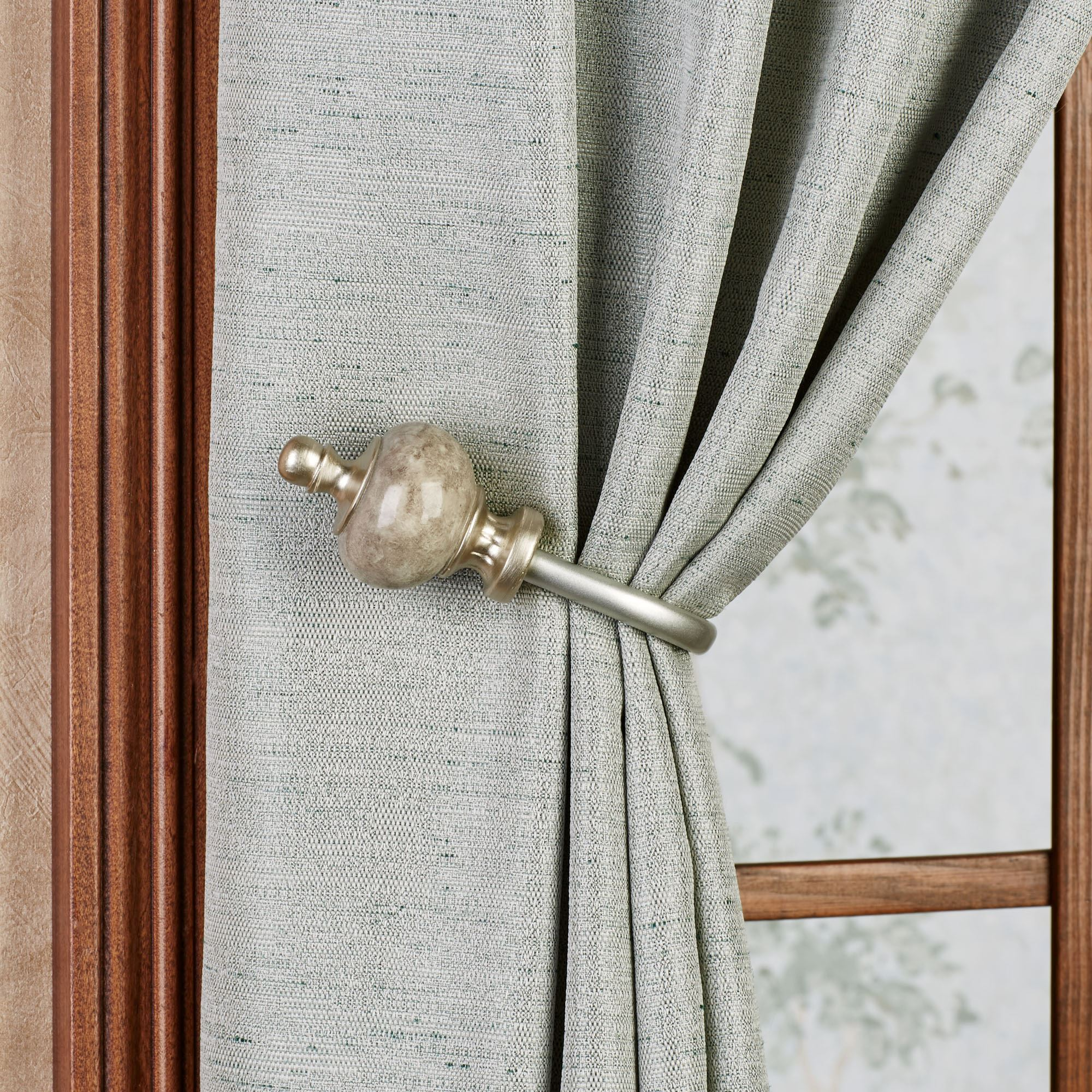 Makrana Curtain Holdback Pair by Waverly