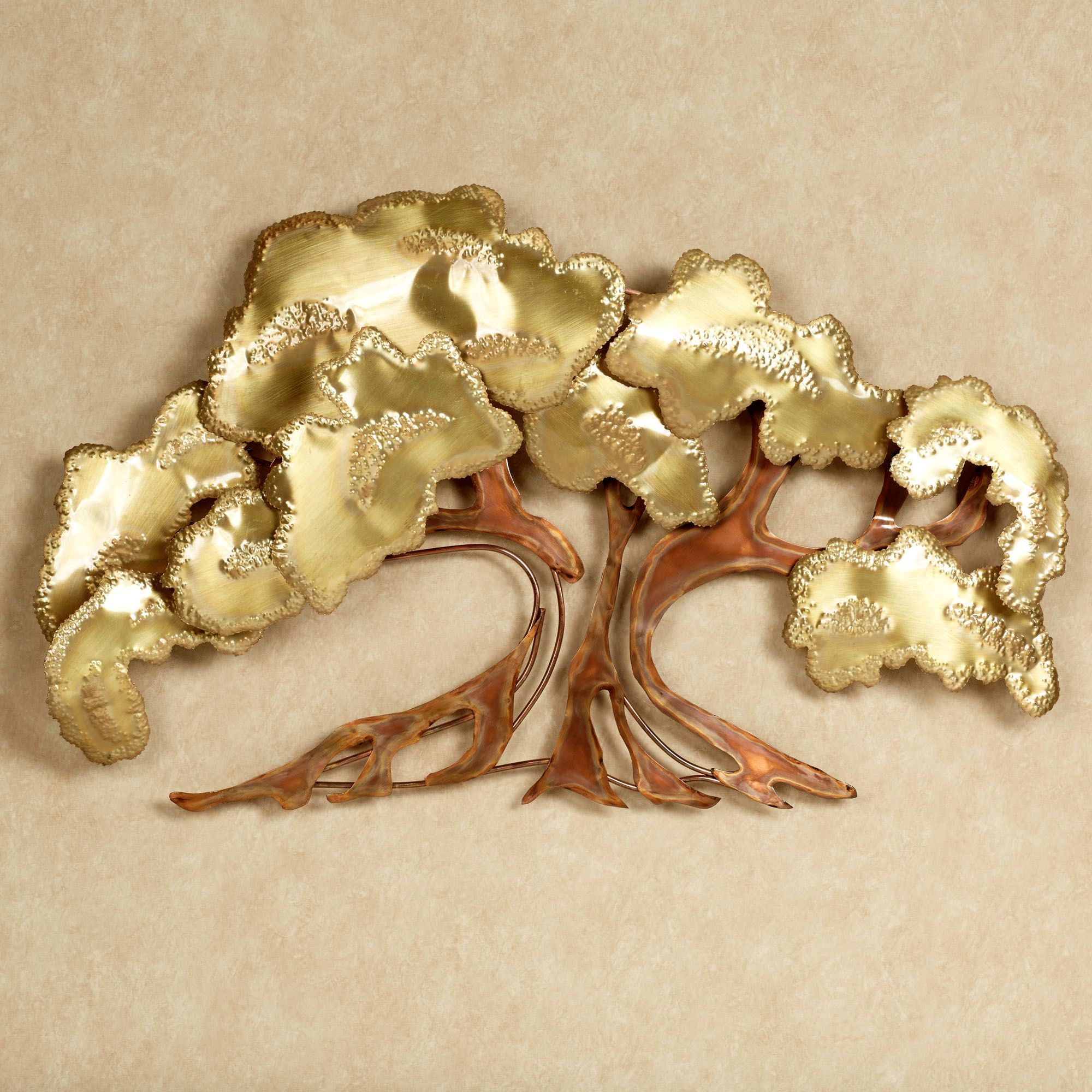 Zen Tree Metal Wall Sculpture. Click To Expand