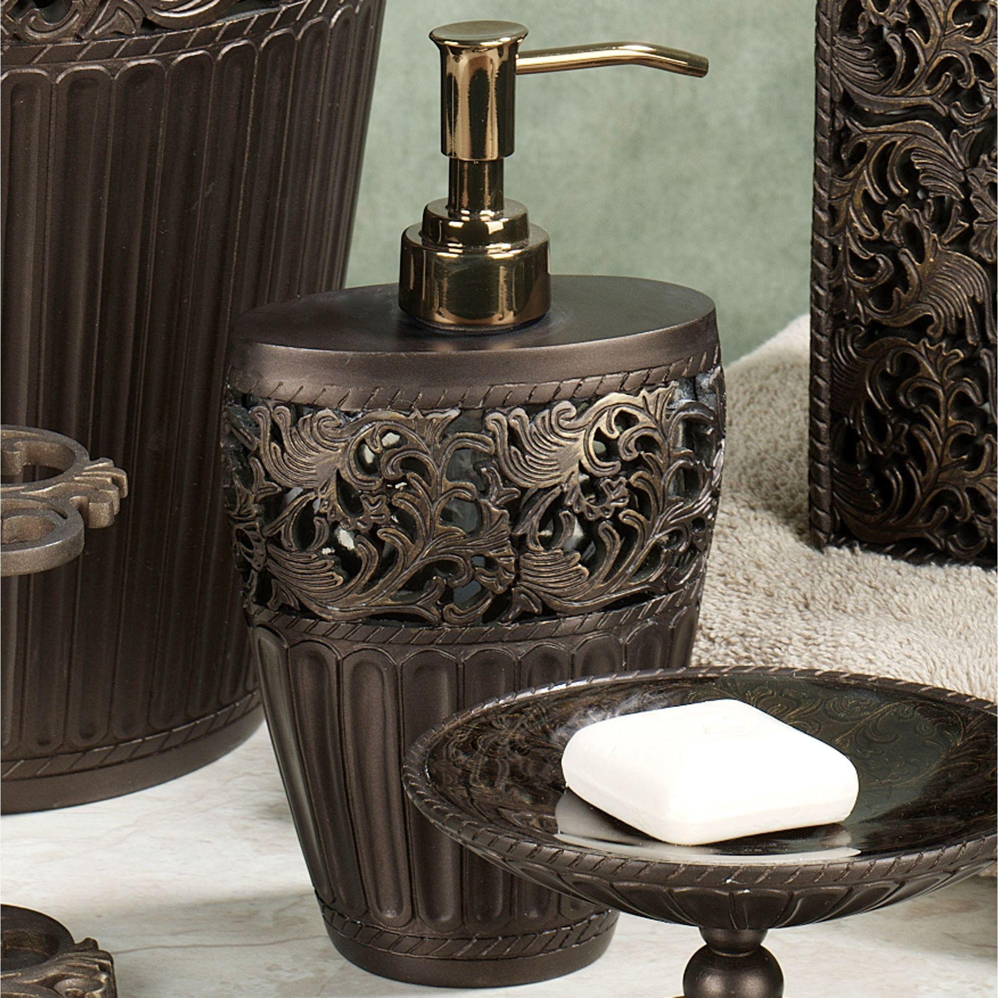 Marrakesh Bath Accessories By Croscill - Croscill bathroom sets
