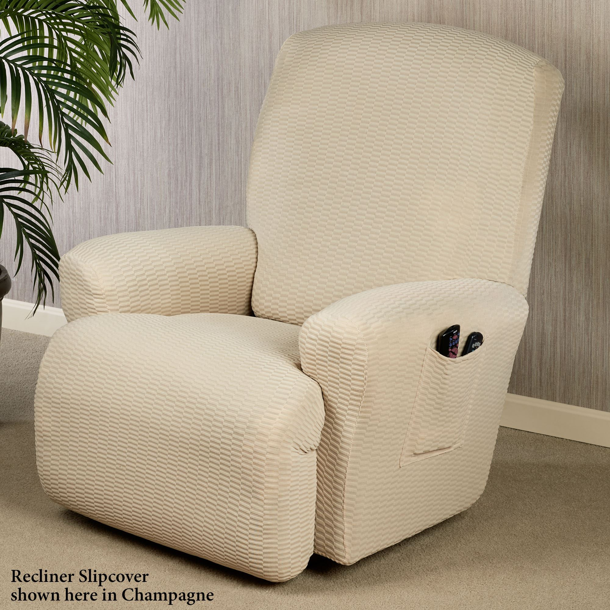 large madrec slipcovers madison slipcover stretch recliner home jersey