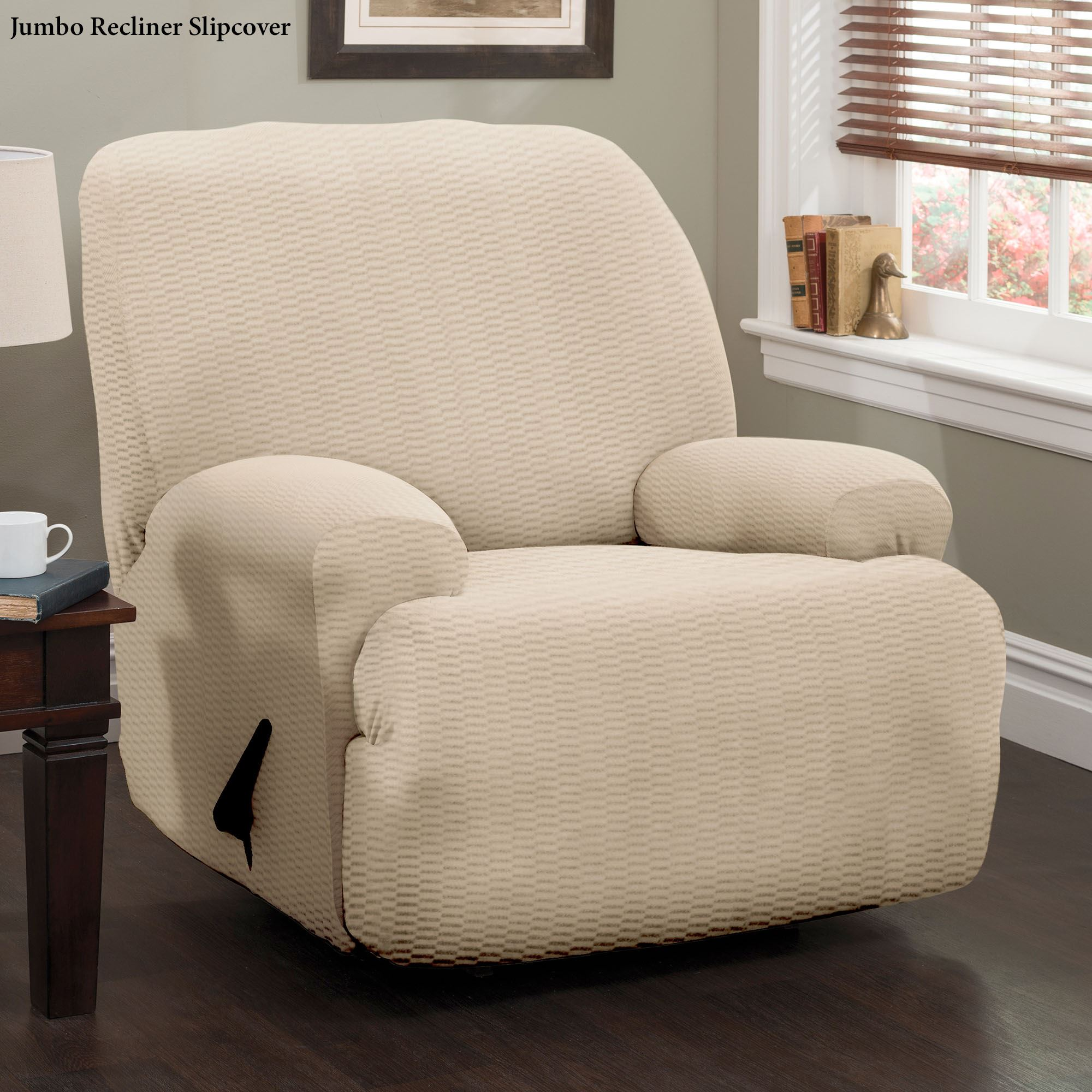 Raise The Bar Stretch Recliner Slipcovers