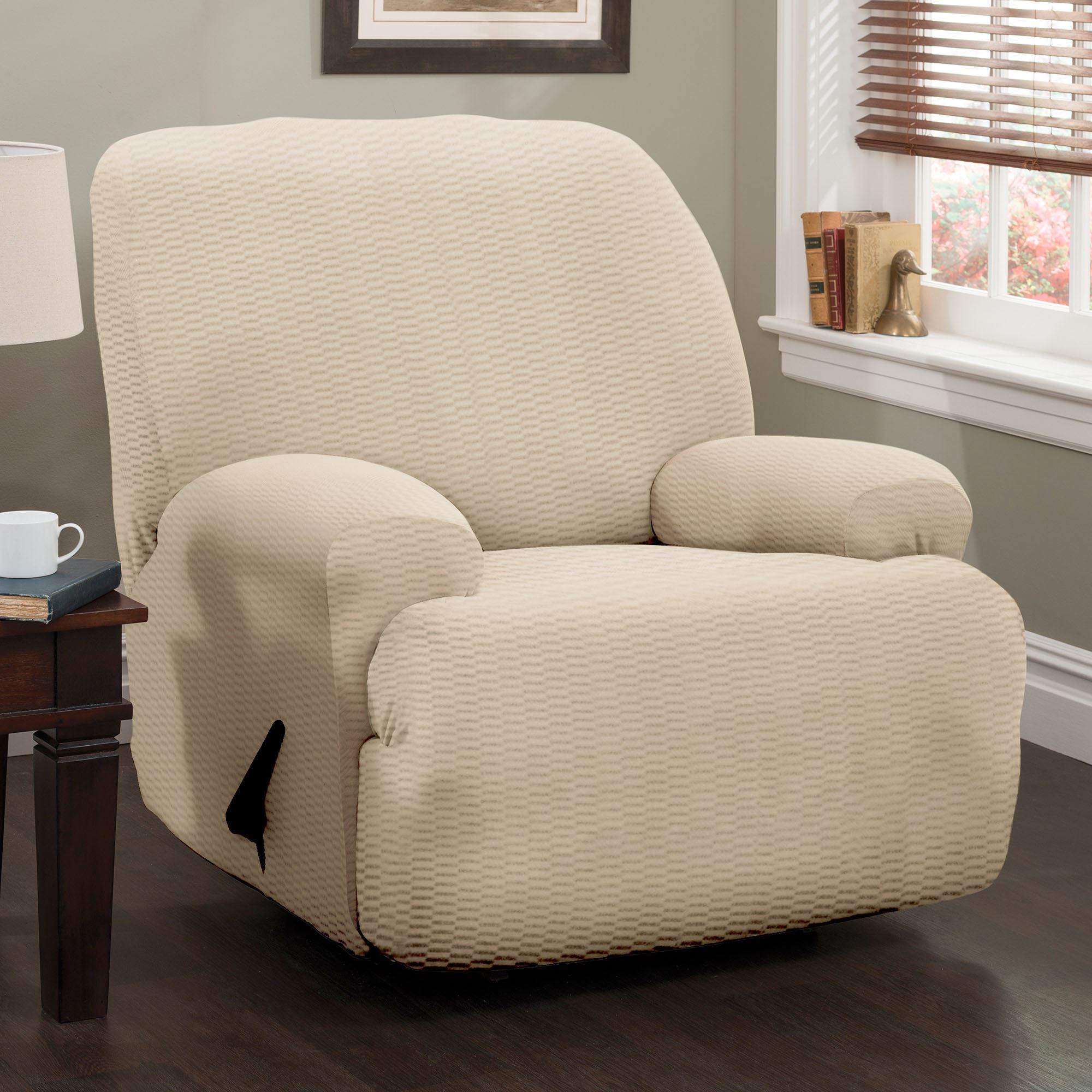 design under recliner a cool slipcover home popular wonderful chair for room slipcovers