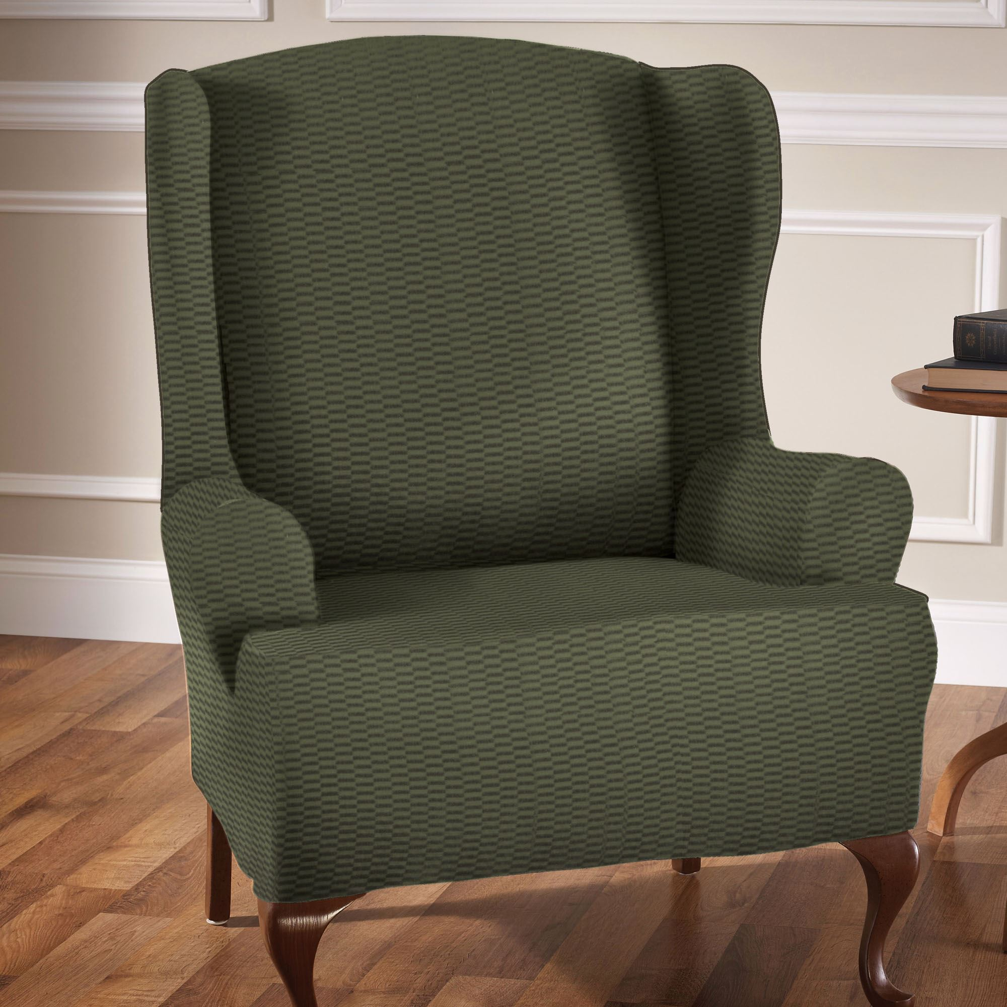 Raise The Bar Stretch Wing Chair Slipcovers