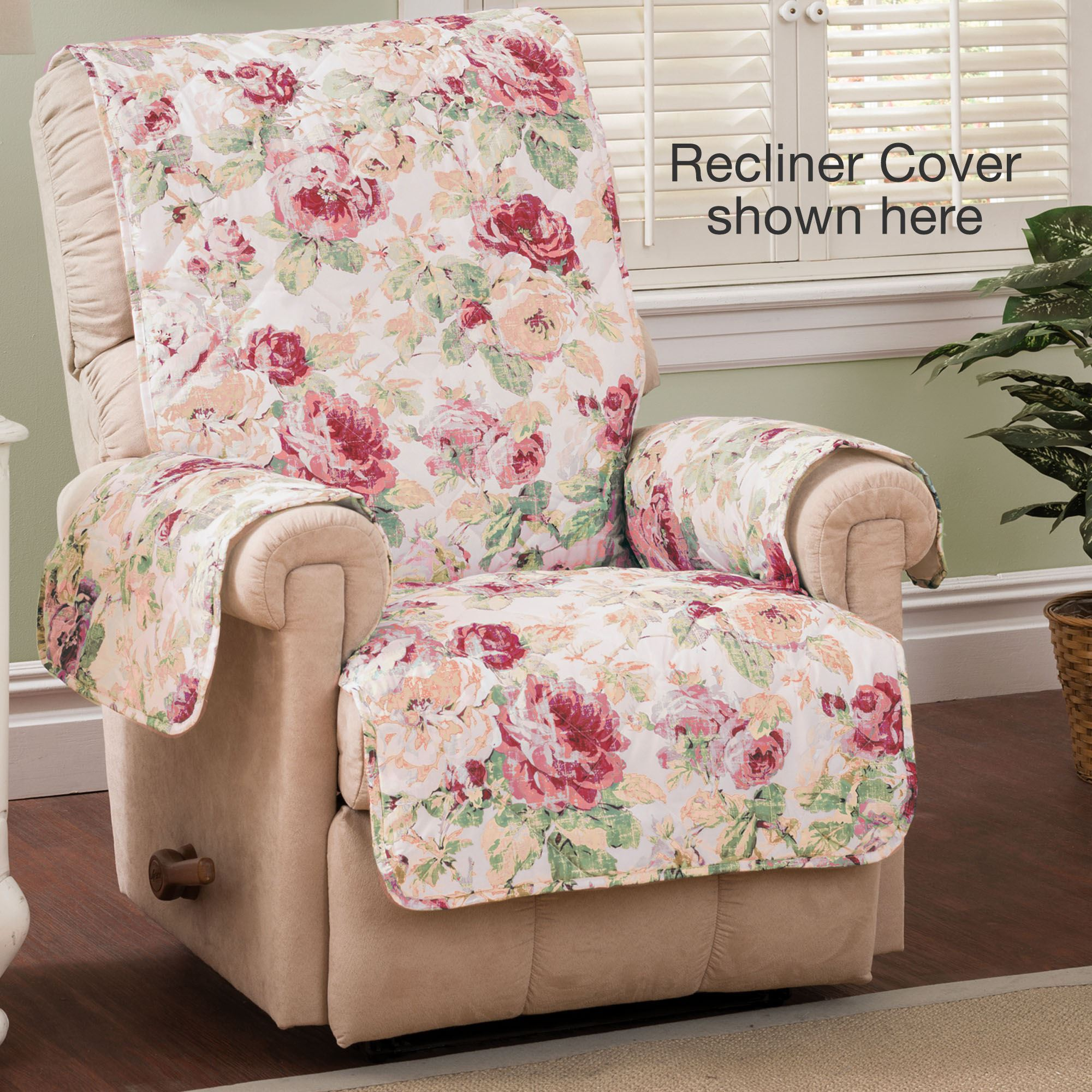 english floral tea rose quilted furniture protectors rh touchofclass com Korean Tea Chair Tea Table and Chairs
