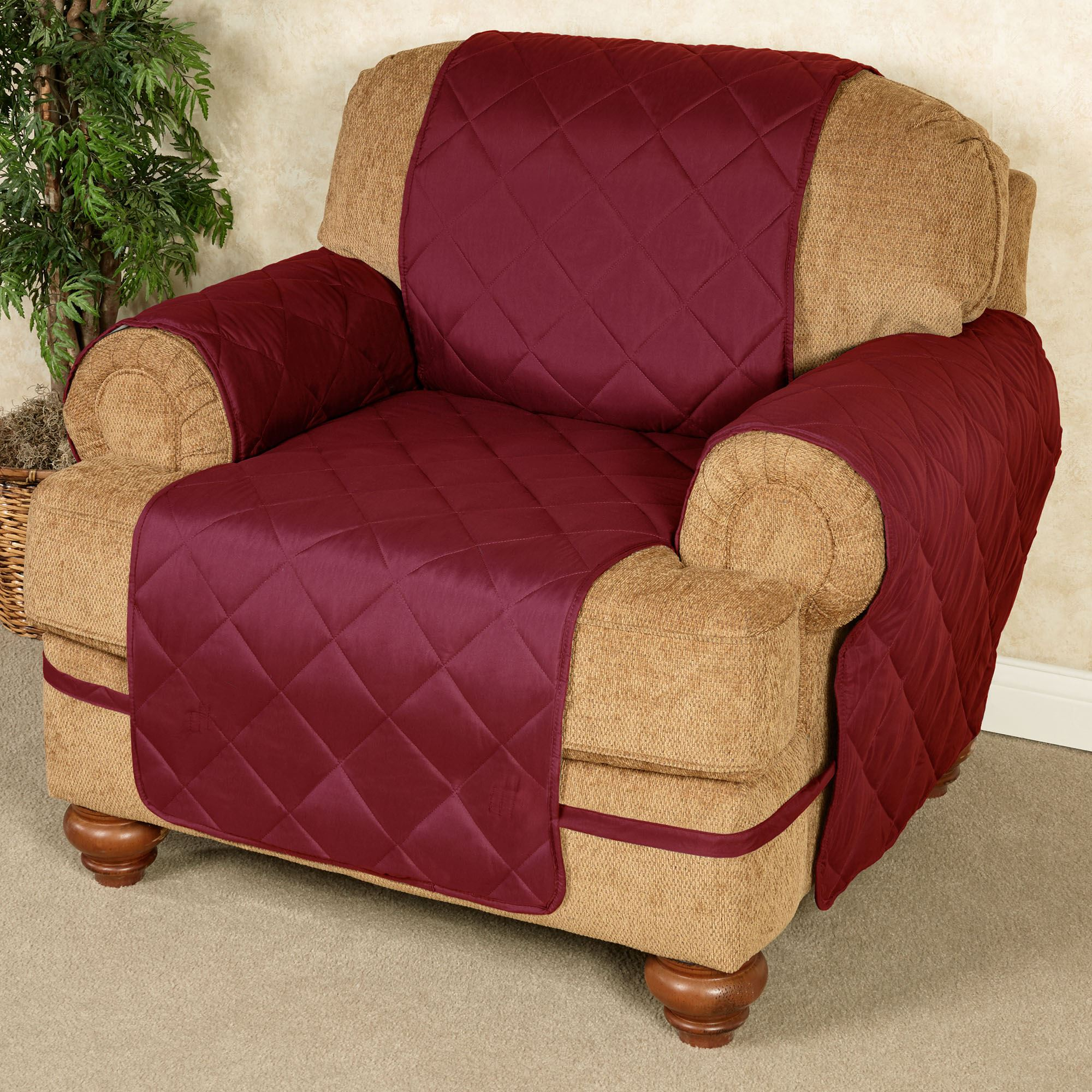 Charmant Ultimate Microfiber Furniture Protector Cover Chair