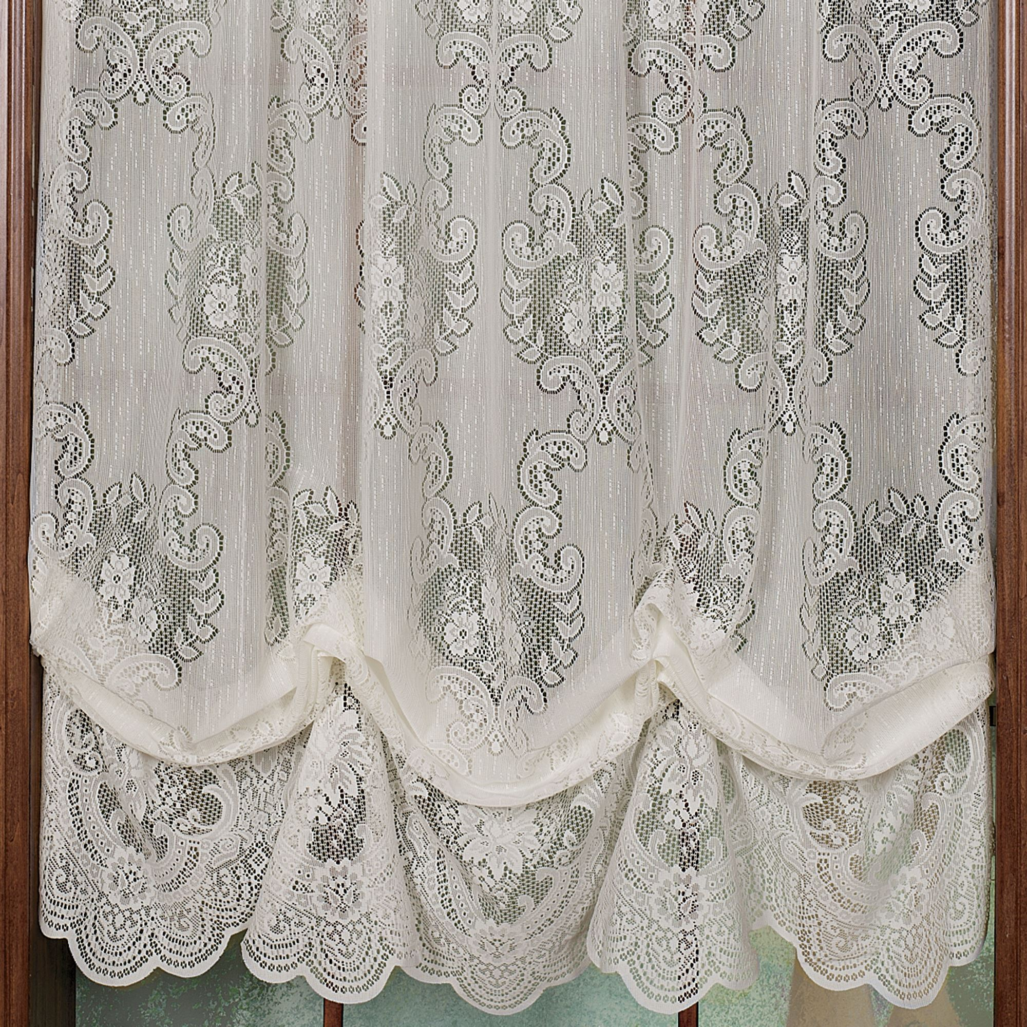 french canada curtains valance panels white antique cream window fabric lace carly kitchen battenburg pleated ecru curtain allison shower old treatments