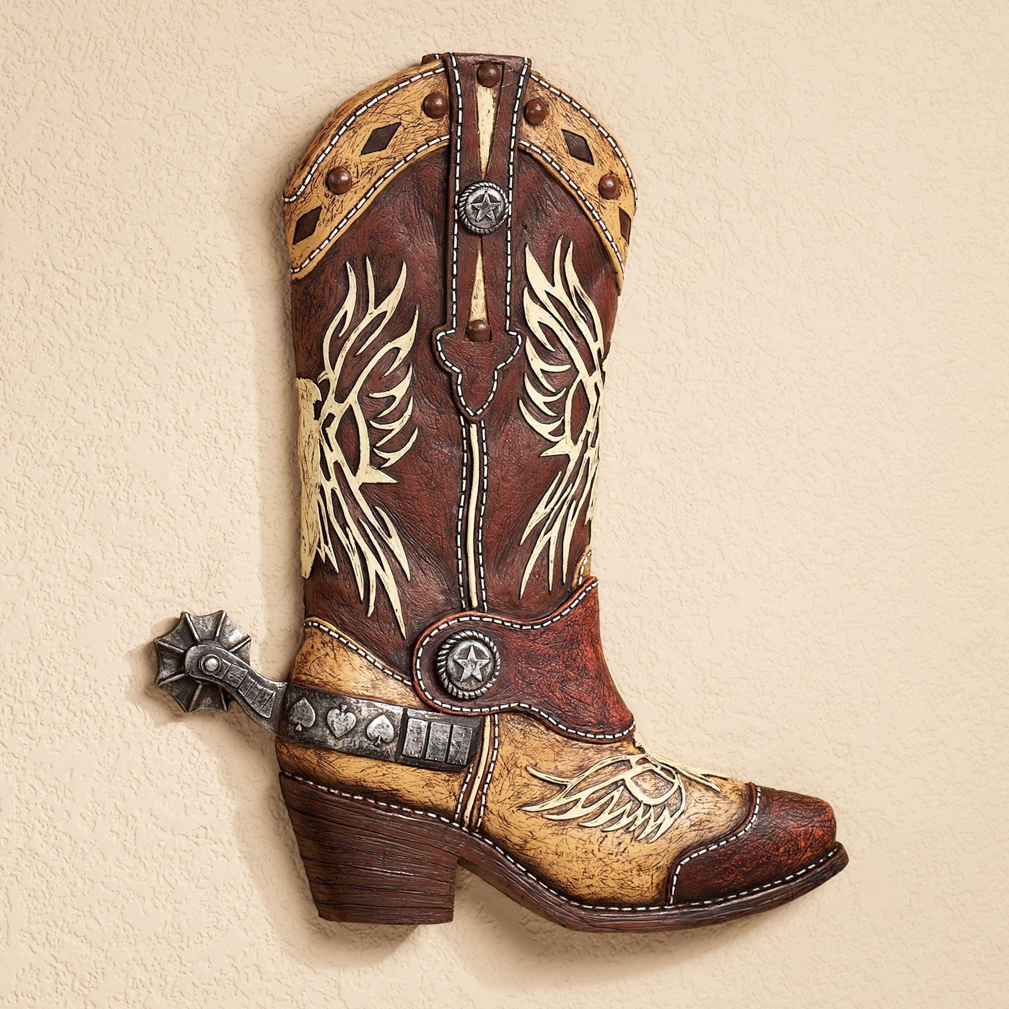 southwest cowboy boot wall art rh touchofclass com cowboy boots at amazon uk mens cowboy boots cartoon