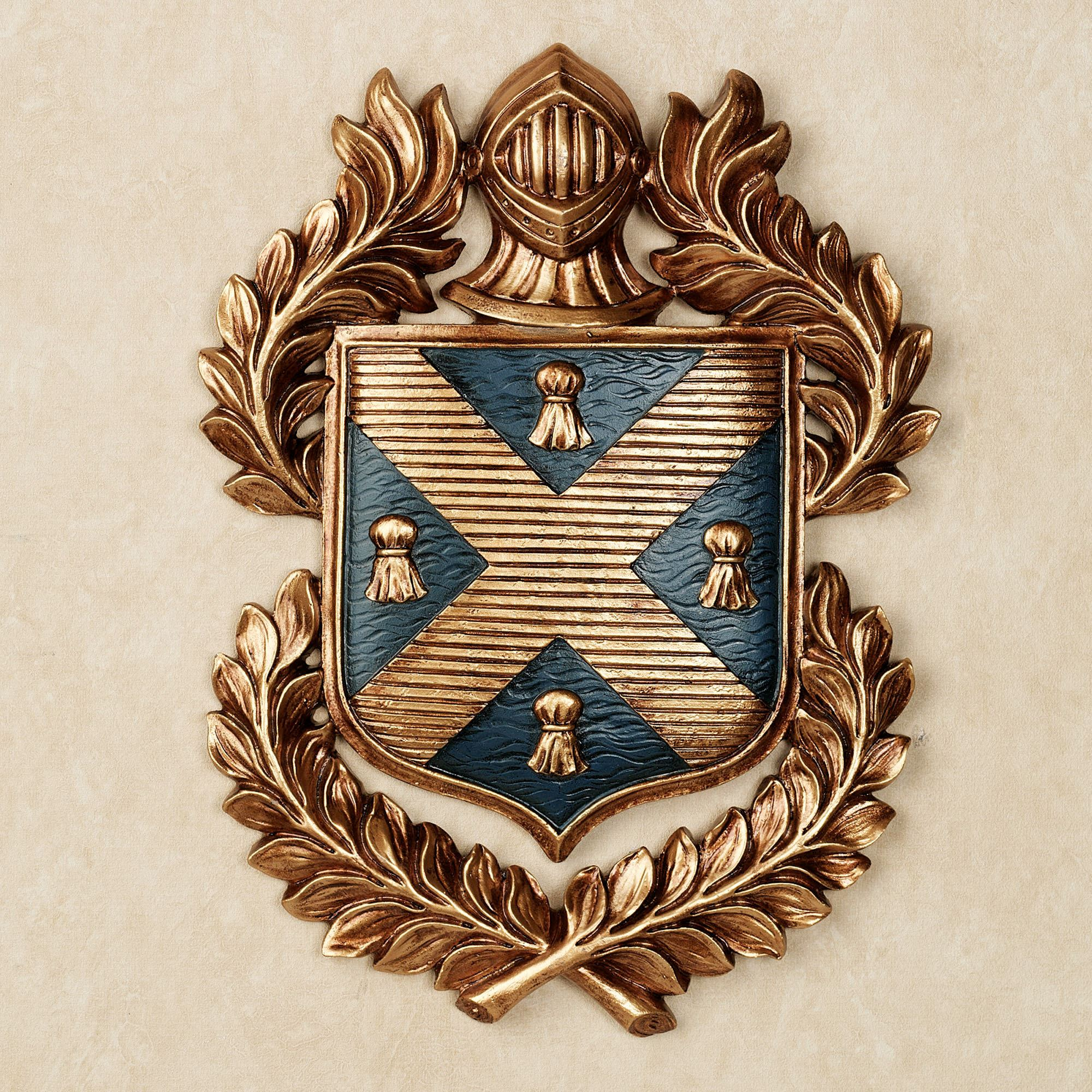 Tassel Coat Of Arms Wall Plaque